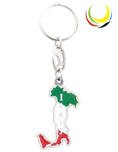 Keychain -ITALY MAP-