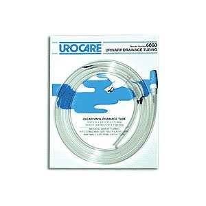 UC6060 - Urocare Products Inc Sterile Clear-Vinyl Extension Tubing with Adaptor and Cap 9/32 I.D. x 60