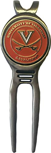 Virginia Cavaliers Golf Divot Tool Brass Great Gift IDEA UVA Acc CAVS