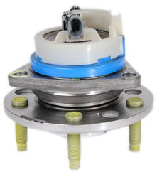 ACDelco 20-75 GM Original Equipment Front Wheel Hub and Bearing Assembly with Wheel Speed Sensor and Wheel Studs
