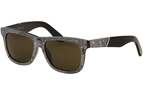 Sunglasses Diesel DL 140 DL0140 05E black/other / brown (Square Sonnenbrille)