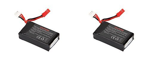 2 x Quantity of Walkera Rodeo 110 FPV Racing Quadcopter Rodeo 110-Z-21 Li-Po Battery 7.4V 850mAh 25C 2S 2 Cell Power Pack Lithium Polymer Fuel Source