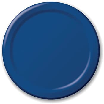 Creative Converting Touch of Color 24 Count Paper Lunch Plates Navy  sc 1 st  Amazon.com & Amazon.com: Creative Converting Touch of Color 24 Count Paper Lunch ...