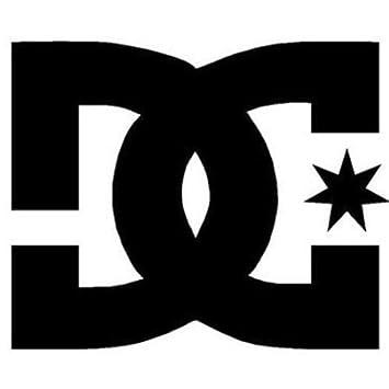 DC Shoe COMPANY Sticker Logo 76 mm Orange: Amazon co uk: Car & Motorbike