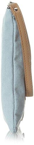 Codello 81021622 - Pochette da giorno Donna, Blau (Light Blue), 1x19x22 cm (B x H T)