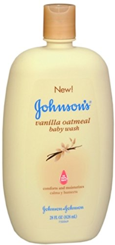 JOHNSON'S Vanilla Oatmeal Baby Wash 28 oz (12 Pack) by Johnson's