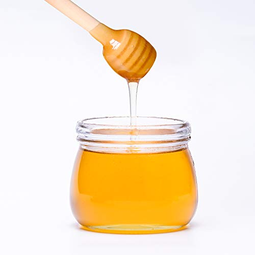 150 Pack 3 Inch Mini Wood Honey Dipper Sticks, Individually Wrapped, Server for Honey Jar Dispense Drizzle Honey by Thyores (Image #4)