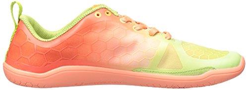 Vivobarefoot Chaussures De Course Evo Pure Corail / Citron Vert
