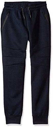 Navy Fleece Gym Pants - 8