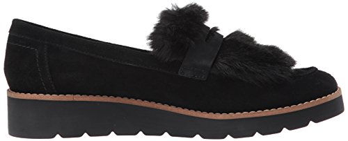 Franco Sarto Dames Harriet Loafer Plat Zwart