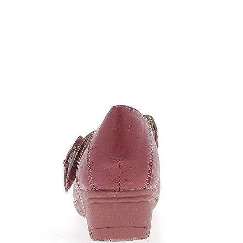 4 Confort Rouge ChaussMoi Talon Femmes Chaussures cm wqXEtqP
