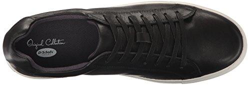 Originale Collezione Dal Dr. Mens Di Scholl Rhythyms Moda Sneaker Nero Caduto In Pelle