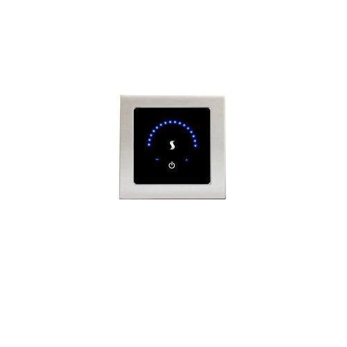 Polished Chrome THERMASOL MTMR-PC MicroTouch Controller Modern Recessed