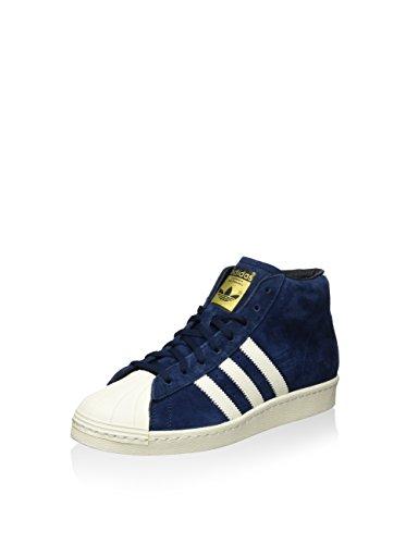 adidas Pro Model Vintage DLX, Sneaker Alte Uomo blu