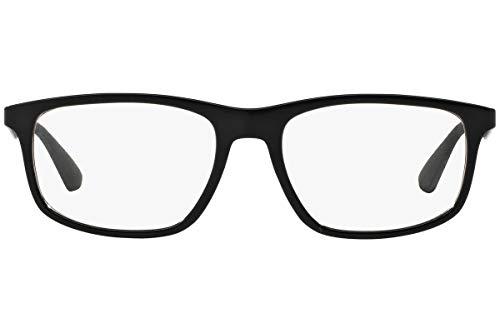 711f9894677 Amazon.com  Ray-Ban Vista RX7055F 2000 Eyeglasses Shiny Black  Shoes