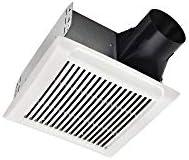 DELTA ELECTRONICS AMERICAS LTD. SLM100 Bath Fan, 100 CFM, Silver