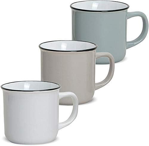 Trinkbecher Tasse Kaffeebecher Emaille Messbecher