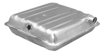 (Fuel Gas Tank for 57 Chevy 150 210 Series Bel-Air w/Round Corners)