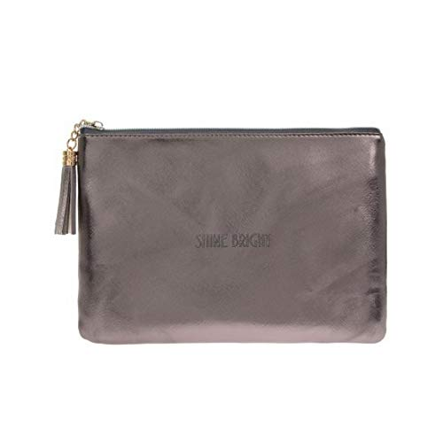 Bag Metallic Metallic Gainsborough Shine Giftware Clutch To Time wxgPzOqY