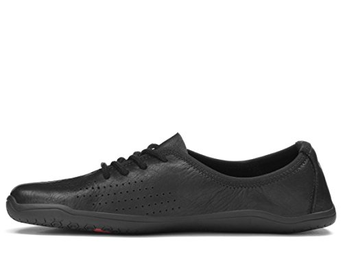 Black MIA Womens Leather Trainers VIVOBAREFOOT xI6RzYxq