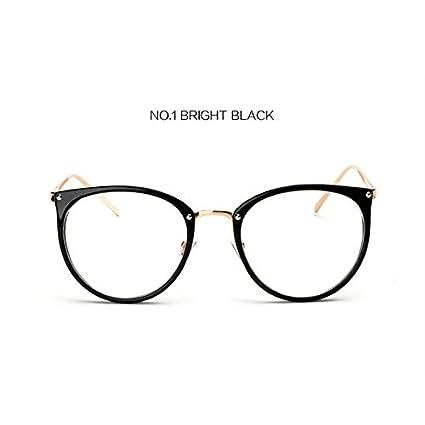 BuyWorld UVLAIK Clear Lens Cat Eye Glasses Frame Women Fashion ...