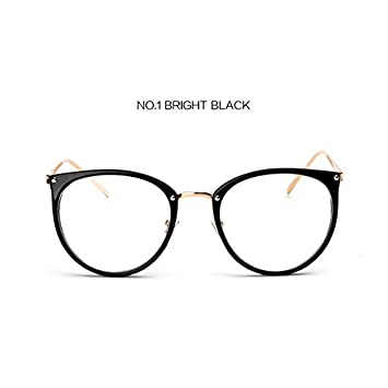 d83a4da194 BuyWorld UVLAIK Clear Lens Cat Eye Glasses Frame Women Fashion Oversized  Spectacle Frames Transpat Optical Eyeglasses Clear Eyeglass  Amazon.in   Home   ...