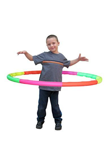 Sports Hoop Weighted Hoop, Weight Loss Wavy Hoop 2B – 1.8lb (Dia.40.5″) Large, Exercise Hula Hoop