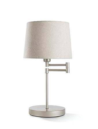 Philips Lámpara de Mesa 3613238E7 E27, 40 W, Color beige, Tischleuchte