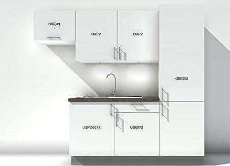Atelier des Rocailles Cocina Completa con Accesorios – Pas en Kit – Muebles assemblés Listo para Mesa.: Amazon.es: Hogar