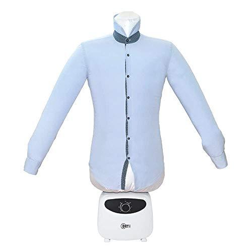 Sécheur Repasseur Dry Magic, 2-en-1 : sèche et repasse, Mannequin à air Chaud, Plus Besoin de Repasser Les Chemises - Dry Magic - Blanc