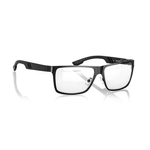 GUNNAR Gaming and Computer Eyewear/Vinyl, Clear Tint - Patented Lens, Reduce Digital Eye Strain, Block 10% of Harmful Blue ()
