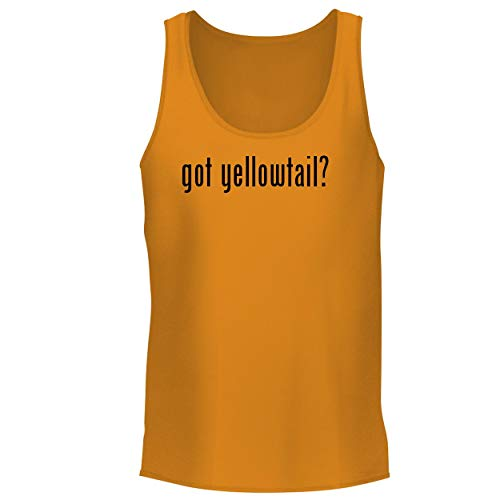 BH Cool Designs got Yellowtail? - Men's Graphic Tank Top, Gold, Large