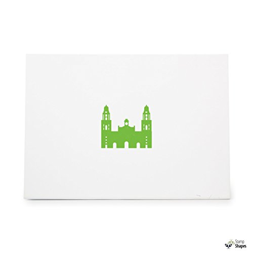 Metropolitan Cathedral - Metropolitan Cathedral Of Mexico City Spain Mexico Money, Rubber Stamp Shape great for Scrapbooking, Crafts, Card Making, Ink Stamping Crafts, Item 987260