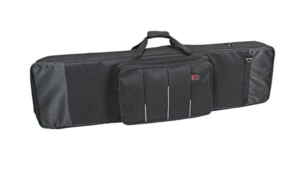 Kaces de 11 KB caso para el teclado con 76 teclas, color negro: Amazon.es: Instrumentos musicales