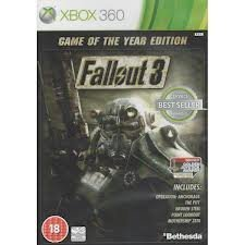 Fallout 3: Game of the Year Edition - Classic (Xbox 360) (Fallout 4 Game Of The Year Edition Ps4)