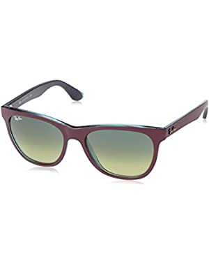 Men's ORB4184 61014M54 Square Sunglasses
