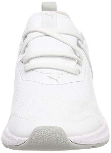 puma Unisex – 02 Da Bambini Ginnastica Basse Ac Violet Bianco Ps gray White Mesh Insurge Puma Scarpe xwBnHq7R7g