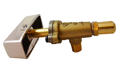 Sunrise Natural Gas Burner Valve + Knob Replacement for Commerical Range