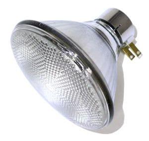 Par38 Prong Side - GE 80321 - 150PAR/3SP/MINE Reflector Flood Light Bulb