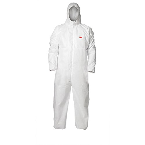 3M Anti-Static Paint Spray/Cleaning White Disposable Coverall 94540 (3, XXL/XXXL)