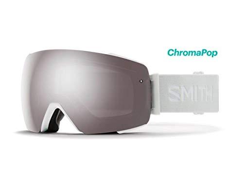 Smith Optics Io Mag Adult Snow Goggles - White Vapor/Chromapop Sun Platinum Mirror