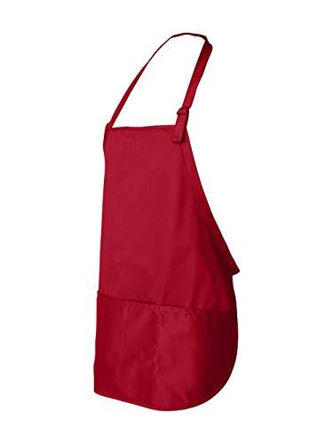 Liberty Bags Sara Adjustable Apron (Red) (ALL)