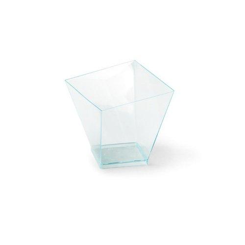 """Alcas 2-Oz Mini Mon Amour / Bijoux Square Dessert Cup 2.17"""" x 2.17"""" x 2.17"""" Prodigal - 60 Pieces"""