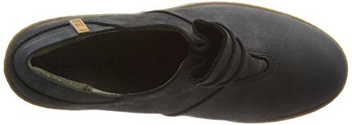 Zapatos Negro Lichen de Cordones Mujer Oxford Nf70 Pleasant para El Naturalista Black wtvqII