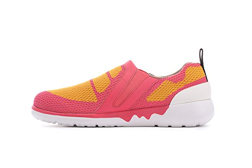 Red Travel Knit Shoe Women's Colorful Victoria UIN amp;orange TtqwYIAwZ