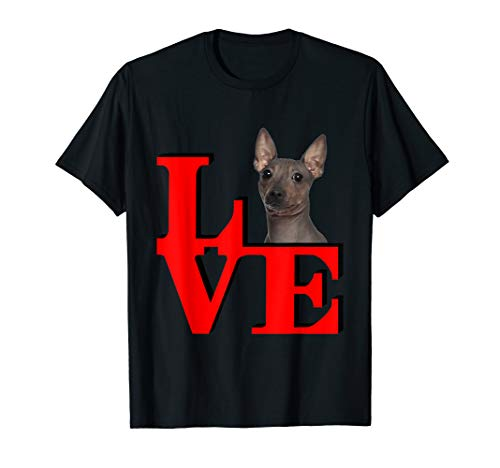 My American Hairless Terrier Love Park T-shirt