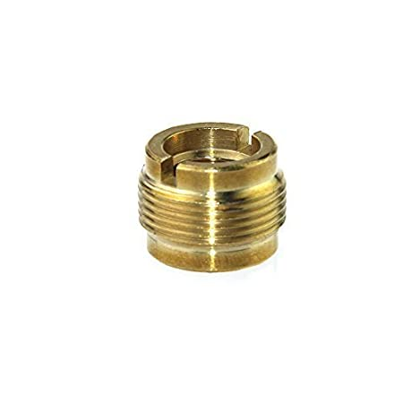 CAMVATE 3/8 Female To 5/8 Male Threaded Screw Adapter For Mic Micphone Stand(2 Pieces)