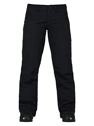 Burton Women's Society Snow Pant Tall, True Black, ()