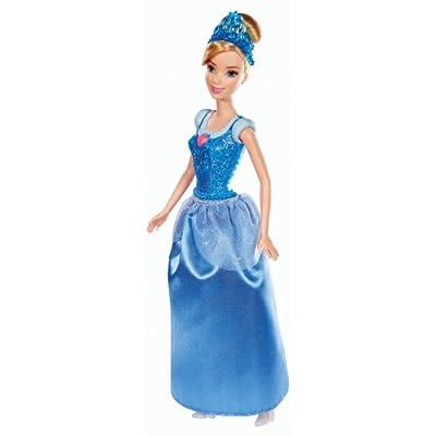 Disney Princess Sparkling Princess Cinderella Doll: Toys & Games