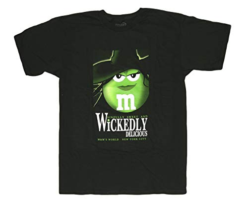 M&M's Candy Silly Character Face T-Shirt (Wickedly Delicious, Medium)]()